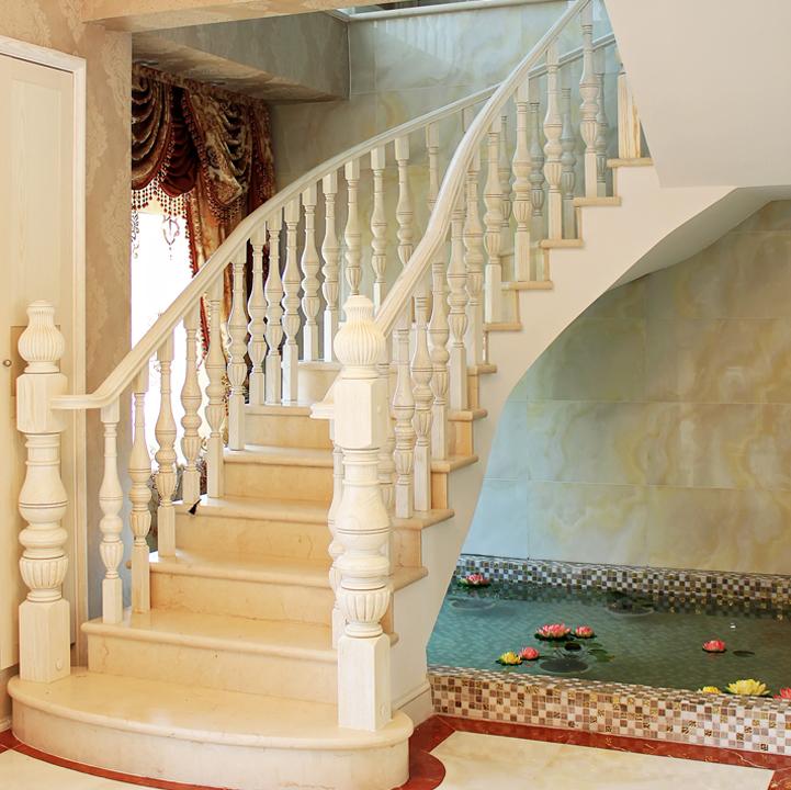 弧形楼梯手绘效果图