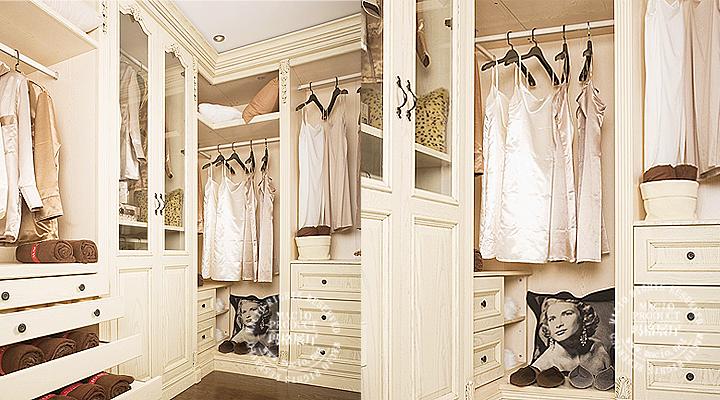 新美式实木衣柜(实木定制)图片