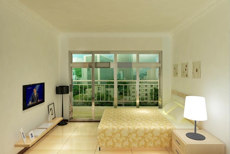 宾馆大厅与客房装修效果