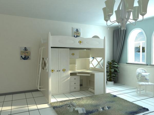 三居室装修效果图童星