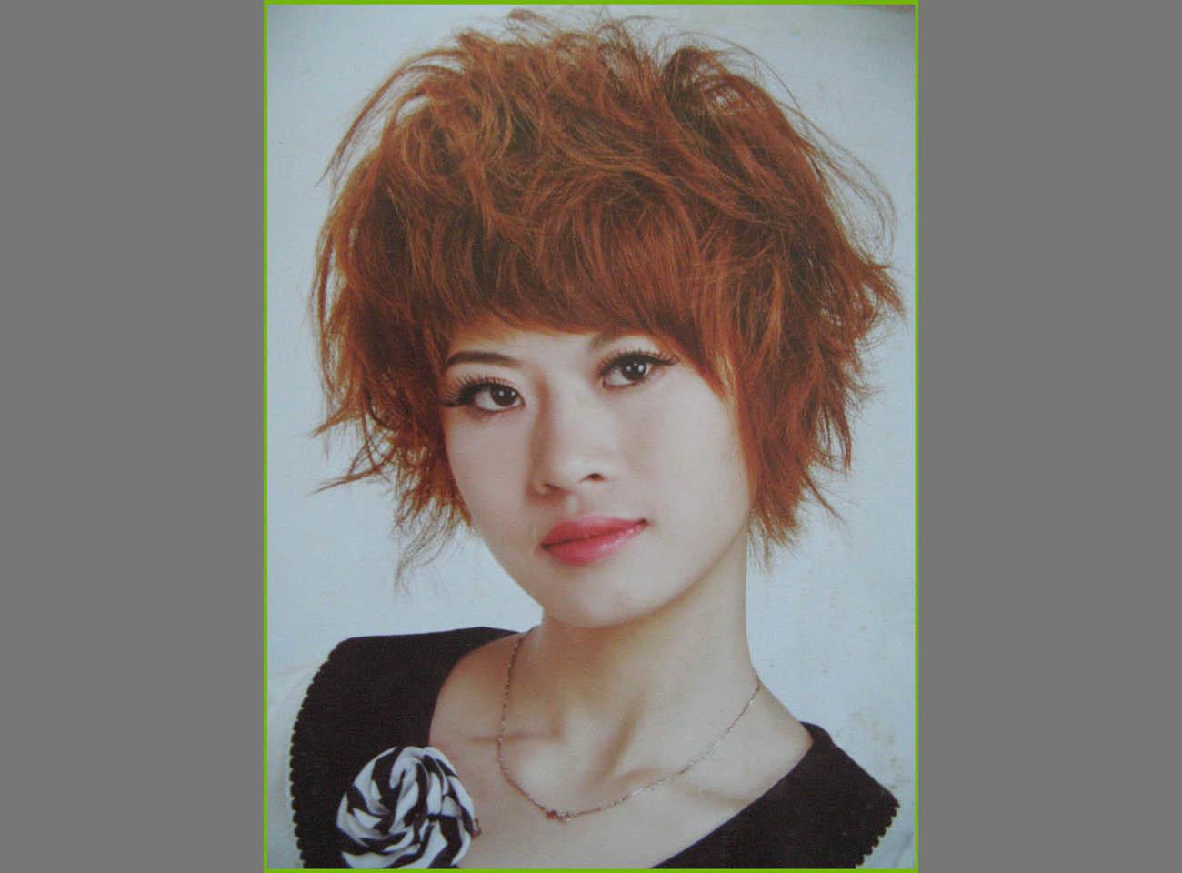 女士短发发型设计图片