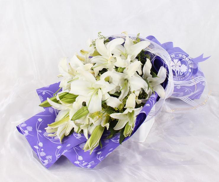 香水百合花束   商品详情