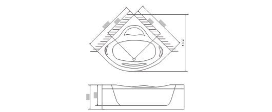 工程图 简笔画 平面图 手绘 线稿 530_219