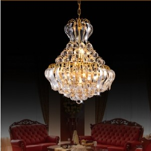 【飞雕】现代金色客厅金色水晶灯吊灯fd2-bx11076-d