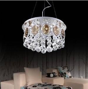 【飛雕】現代簡約餐吊燈客廳水晶燈時尚臥室書房燈具fd2-bs