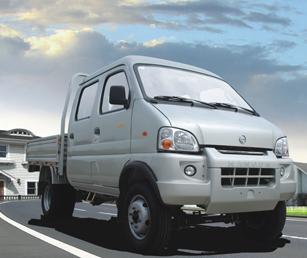南骏 瑞宝 双排 平板微型卡车 农用车高清图片