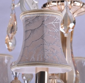 【飞雕】欧式经典客厅灯led灯饰水晶灯6头吊灯fd2-bo0