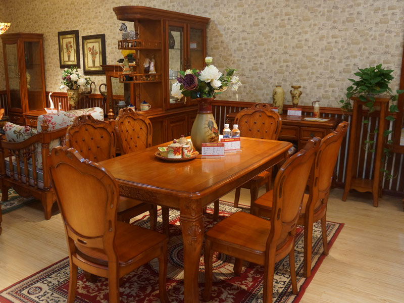 金楸林家具如东专卖店餐桌餐椅