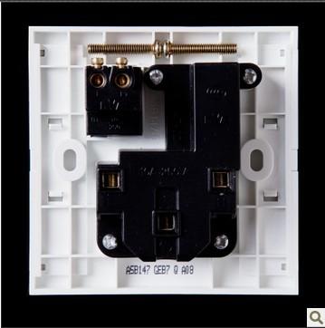 雷士照明a5系列开关插座五孔加开关插座a5b147