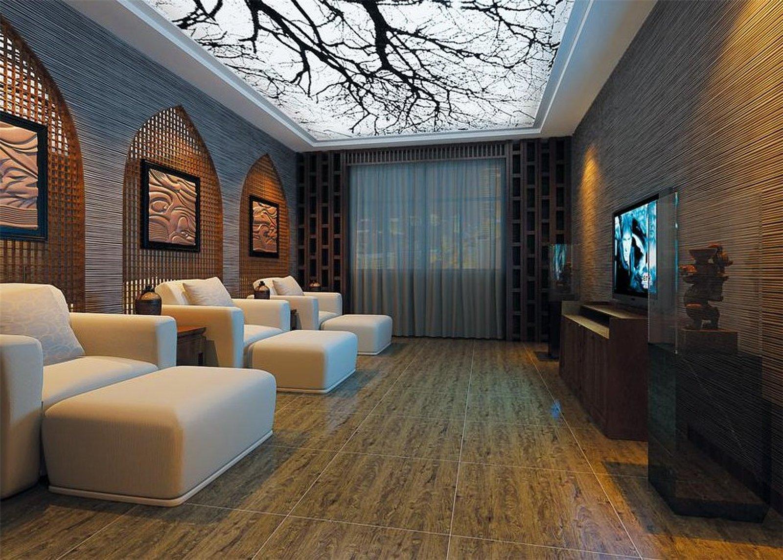 木纹砖室内装修效果图大全