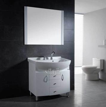 金牌PVC浴室柜RF89056A包龙头中国十大卫浴品牌