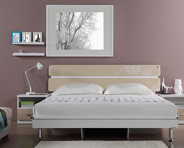 掌上明珠家具新款简约现代卧室组合套房1.8米1.5m