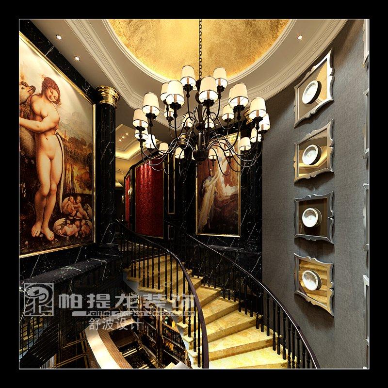 ktv设计——楼梯间效果图