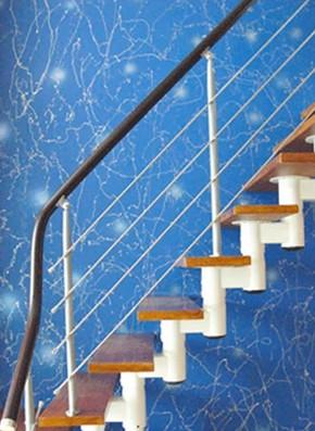 幼儿园楼梯颜料图片