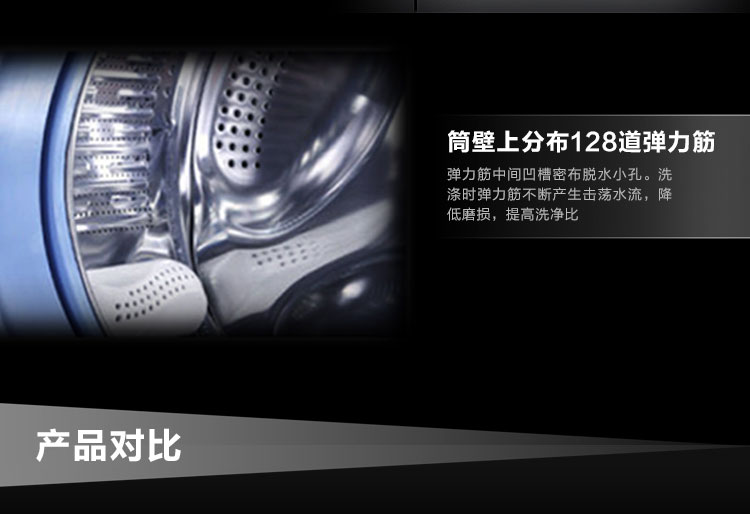 海尔滚筒洗衣机xqg70-1000j