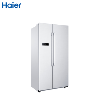 haier/海尔bcd-579we双门/对开门大容量家用