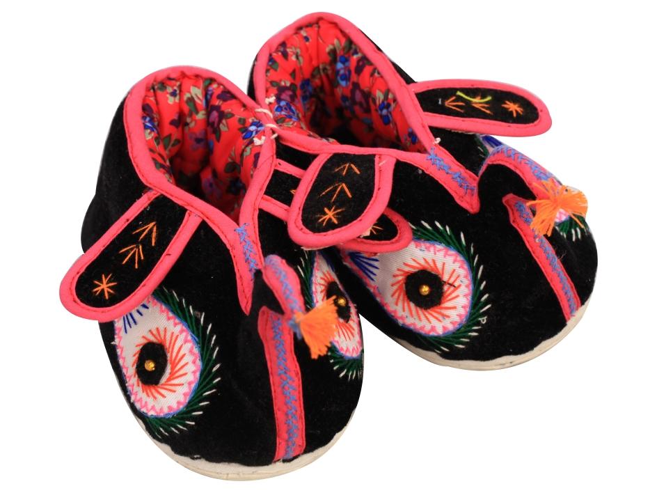 木楠手工布鞋儿童棉鞋