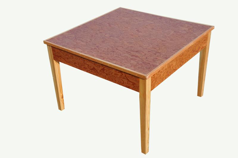 方桌子简笔画步骤