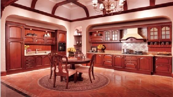 欧派橱柜定制定做整体厨房装修效果图一字型欧式风格维罗纳