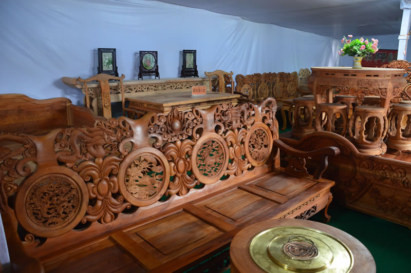 南方精品古典木雕手工家具_家居街_西和在线
