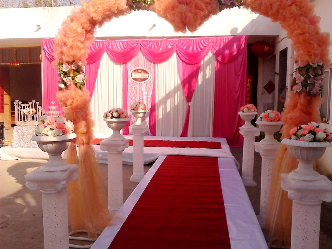 庭院婚礼场景布置