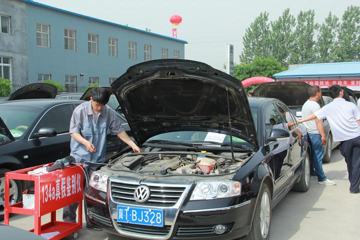 汽车空调清洗