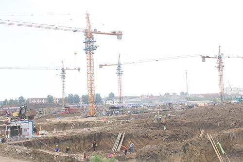 青岛国际服装产业城快速推进工程进度,招商进度,平台建设