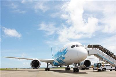 该架飞机目前执飞广州—上海航线