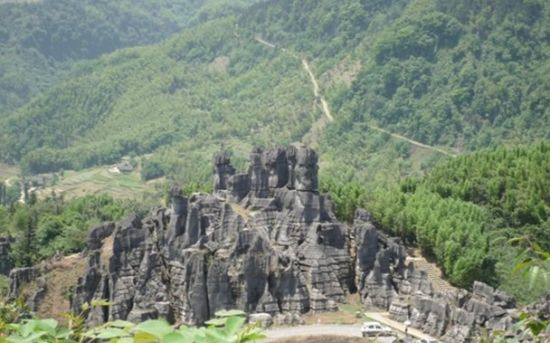 瀘州石林風景區圖片