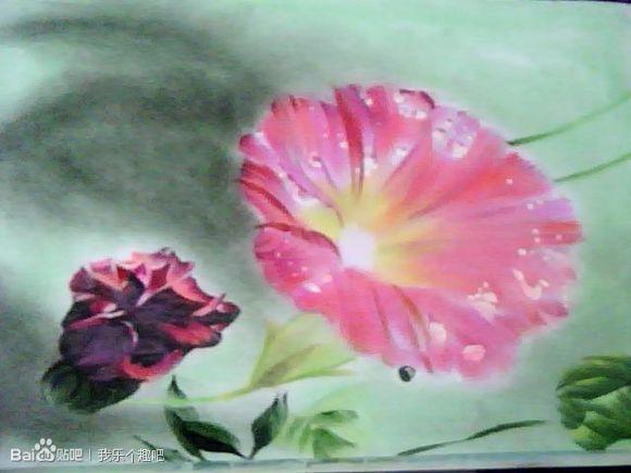 中国风-粉笔画