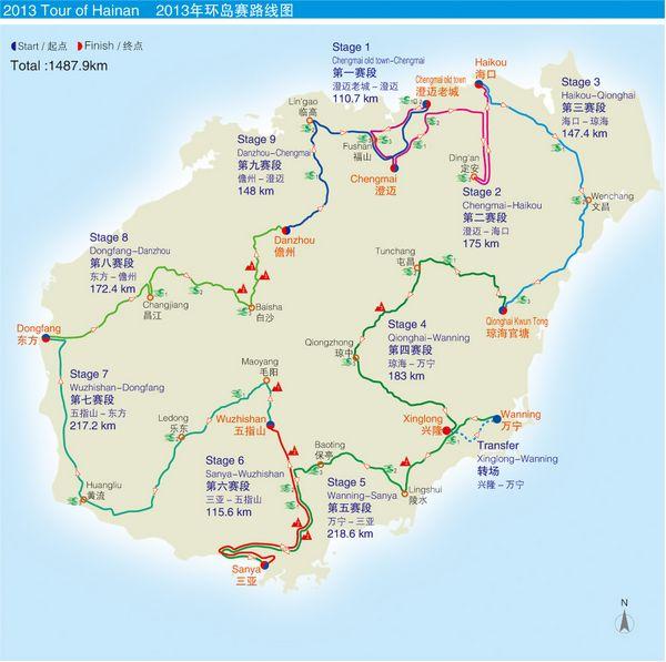 由省文体厅主导成立海南环岛国际公路自行车赛有限公司专业负责赛事