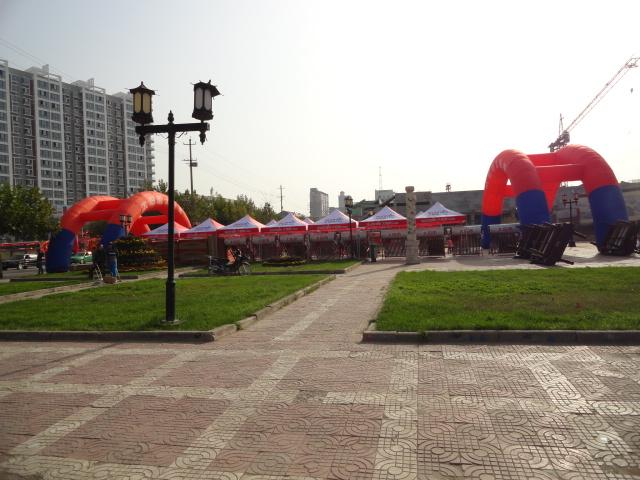 今日八云塔广场真热闹!