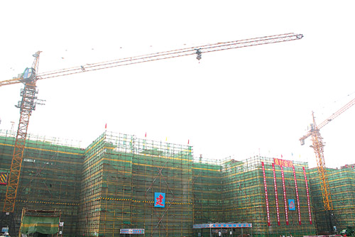 青岛国际服装产业城项目:年内完成a,b区厂房装修