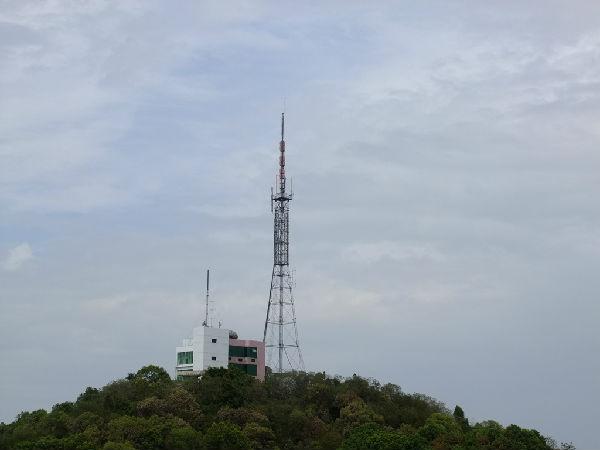 石首电视台发射塔