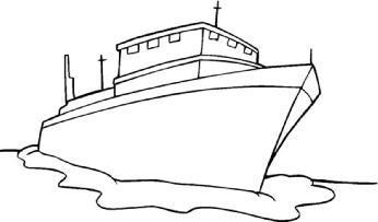 大图 轮船简笔画 简笔画