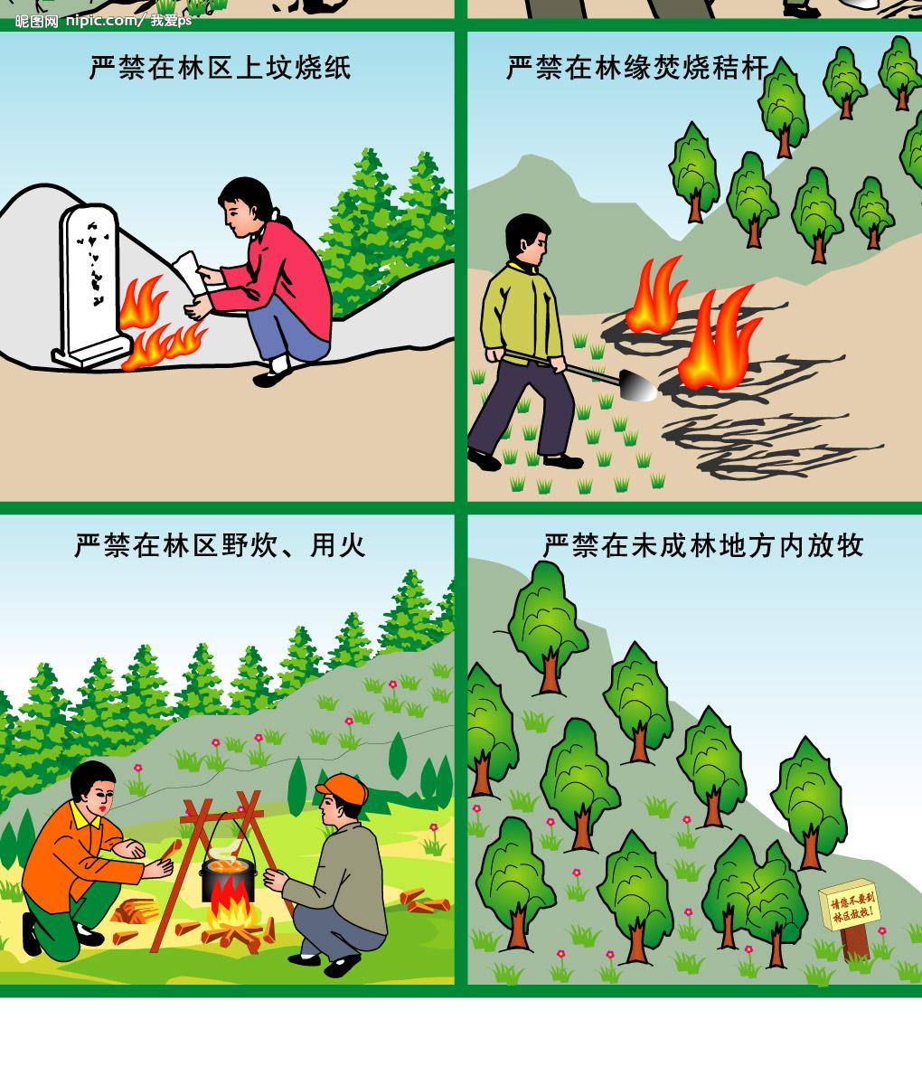 林州市东姚镇森林防火早动手