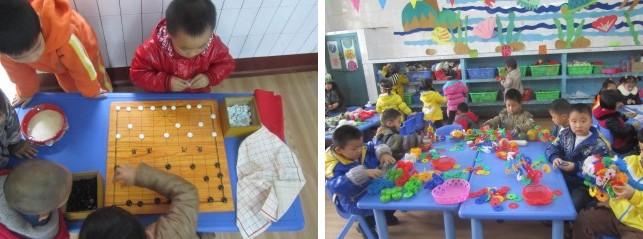 夹江毛街幼儿园区域活动促幼儿主动发展