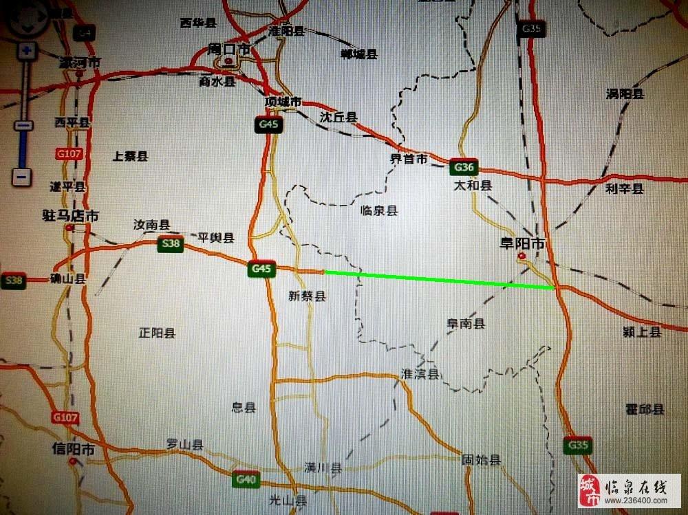 河南省新蔡县地图