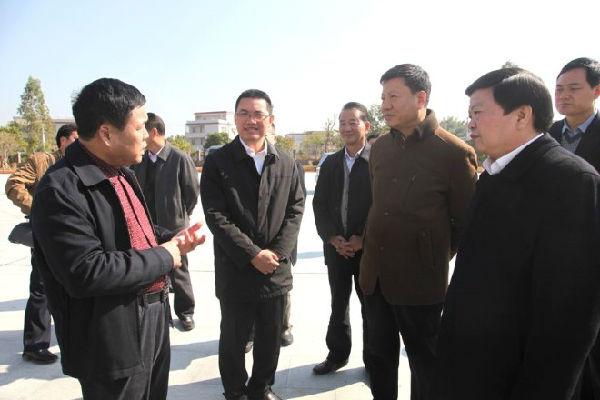 广州市长陈建华率帮队来兴研