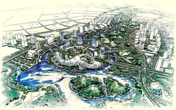 答:玉湖新城位于萍乡经济开发区安源大道8号,南临安源大道,北临玉湖