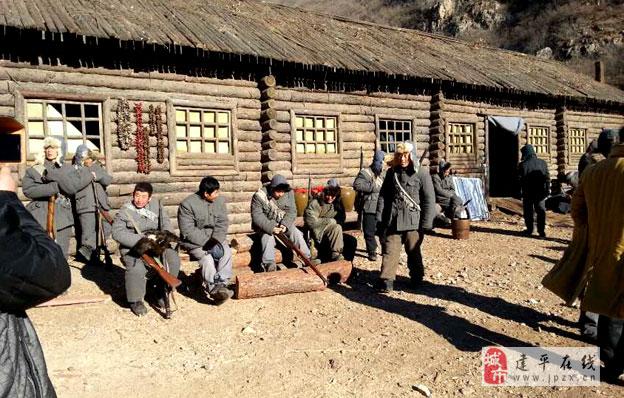 电视剧《抗日英雄赵尚志》在朝阳清风岭火热拍摄