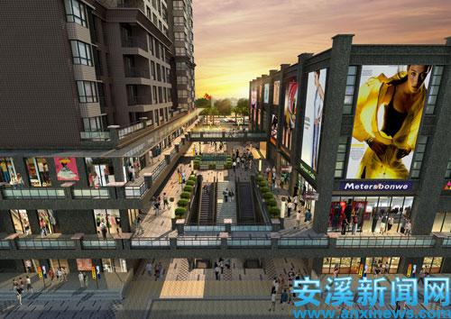 商业连廊设计图片