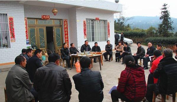 刘永康率队到南安乡开展群众路线教育实践活动