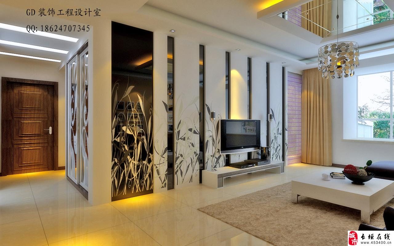 厨柜,办公桌椅,办公屏风,吊顶造形,  隔木板墙,形象墙,铺木地板,木