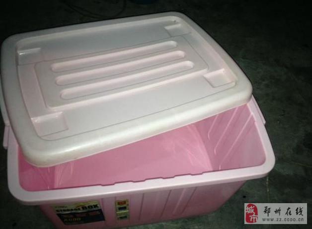 淘宝箱塑料收纳箱整理箱凉席竹席处理