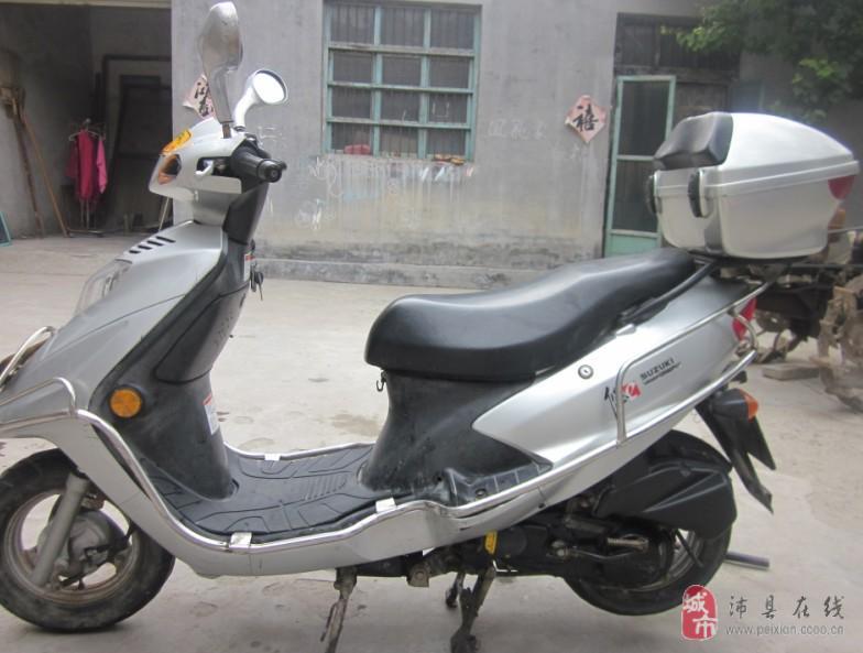 二手踏板摩托铃木悠e出售