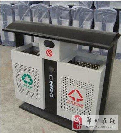 郑州钢木垃圾桶郑州钢板垃圾桶郑州环卫垃圾桶果皮箱