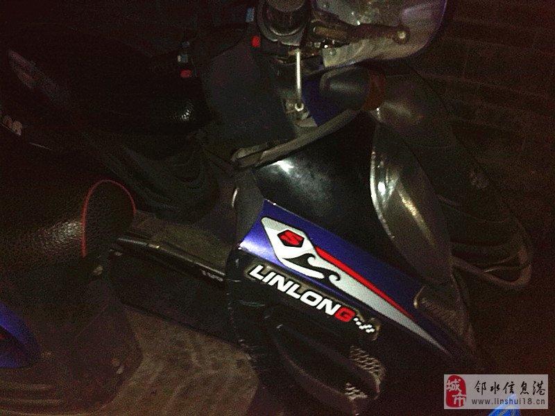 上海建设厂踏板车  125发动机,年审到2014年11月,保险到2014年5月,有