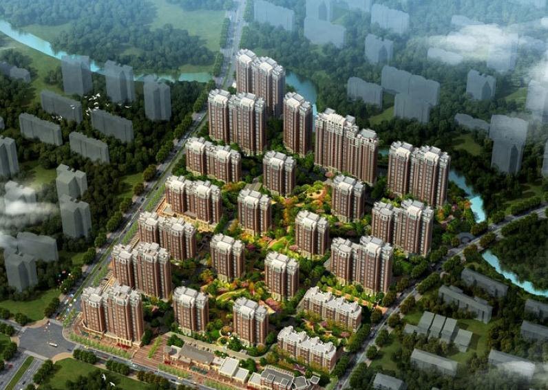 青岛万科未来城规划图
