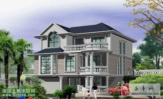 房屋设计为欧式风格